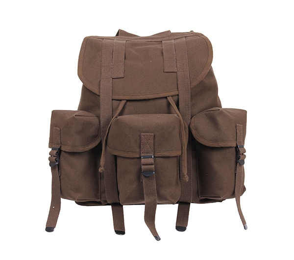 Rothco Brown Canvas Mini Alice Pack - 2697 613902026971  1d4d26f89d8